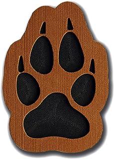 ToeJamR Stomp Pad - Wolf Paw - Brown by TomJamR