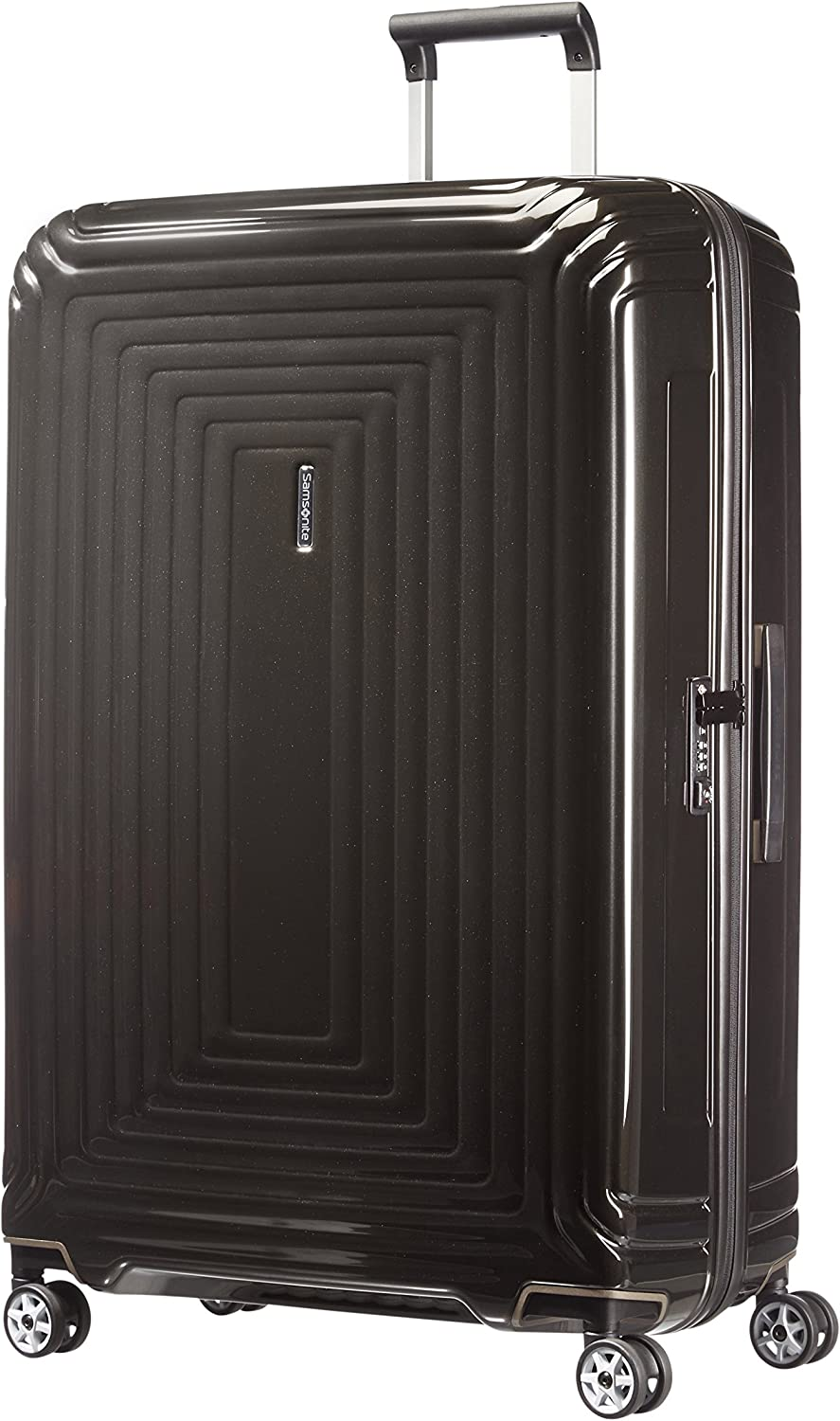 Samsonite Neopulse - Spinner XL Maleta, 81 cm, 124 L, Negro (Metallic Black)