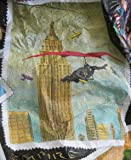 Vintage New York Tyvek Jacket with Twin Towers