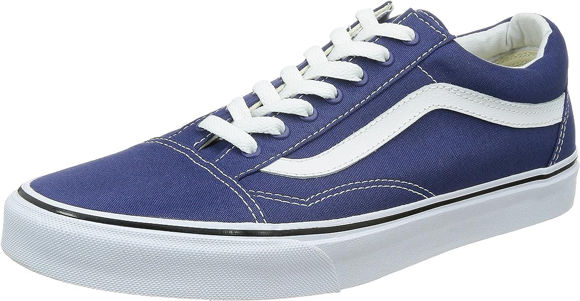 0f42242f802b Amazon.com | Vans Men's Old Skool Skate Shoe (7.5 D(M) US, Twilight/True  White) | Fashion Sneakers