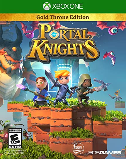 Amazon com: Portal Knights: Gold Throne Edition - Xbox One