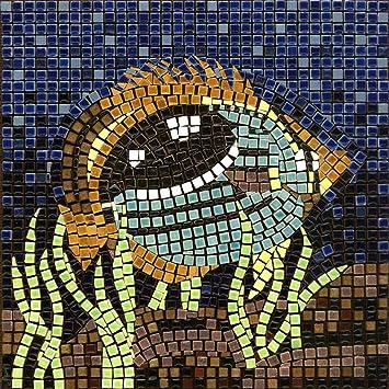 DIY Mosaic Art Kit 7 Square, 20x20cm, Fish 1