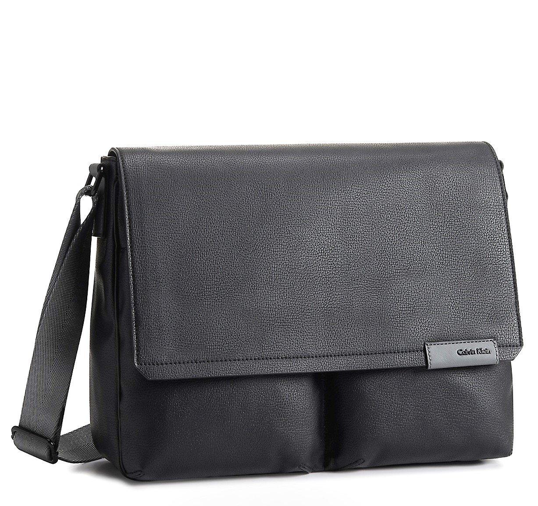 Calvin Klein Mens Bradon Safari Travel Messenger Bag by Calvin Klein