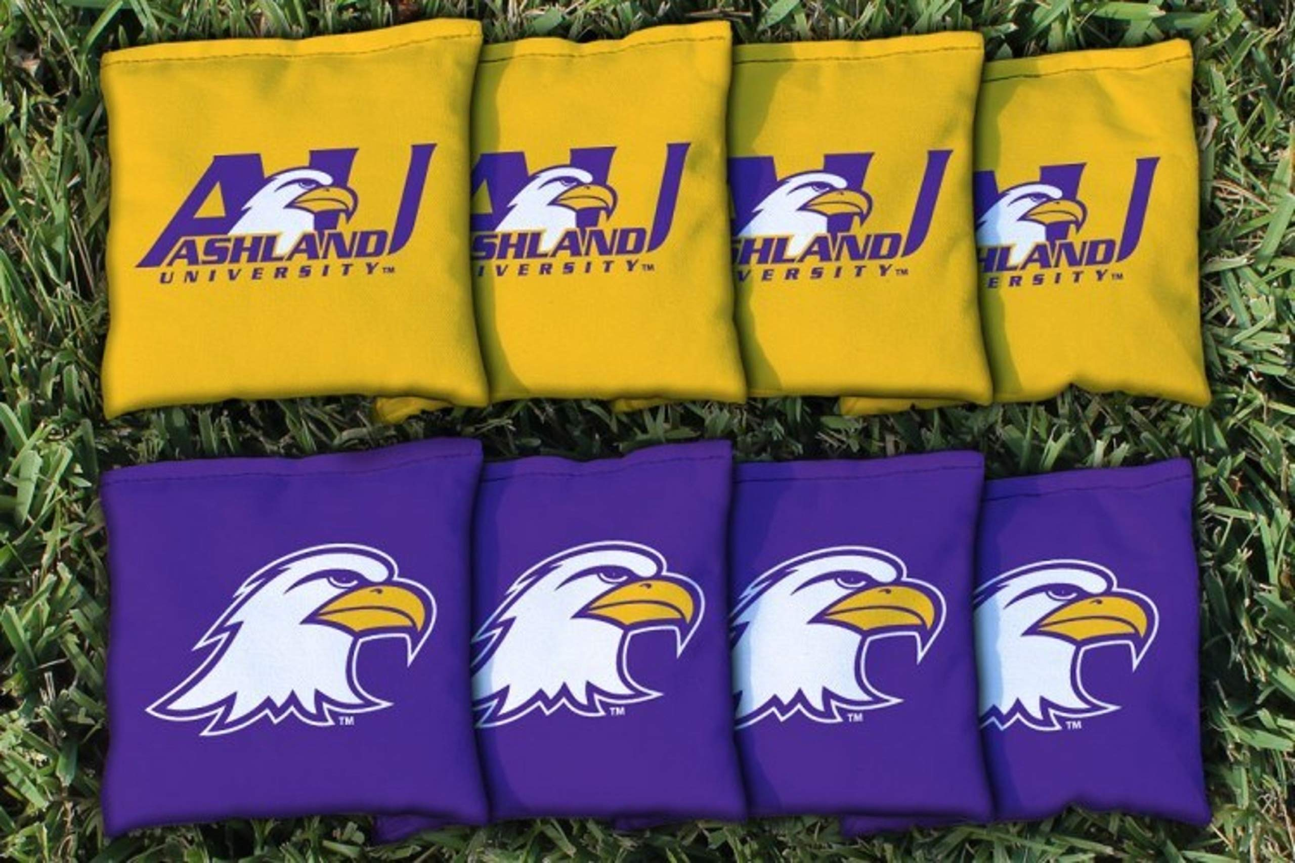 Victory Tailgate NCAA Collegiate Regulation Cornhole Game Bag Set (8 Bags Included, Corn-Filled) - Ashland Eagles by Victory Tailgate