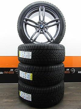 BMW X3 F25 X4 F26 8.5J 19 pulgadas Llantas Invierno ruedas RUNFLAT Dunlop AC ms512tya-mb3 nuevo: Amazon.es: Coche y moto