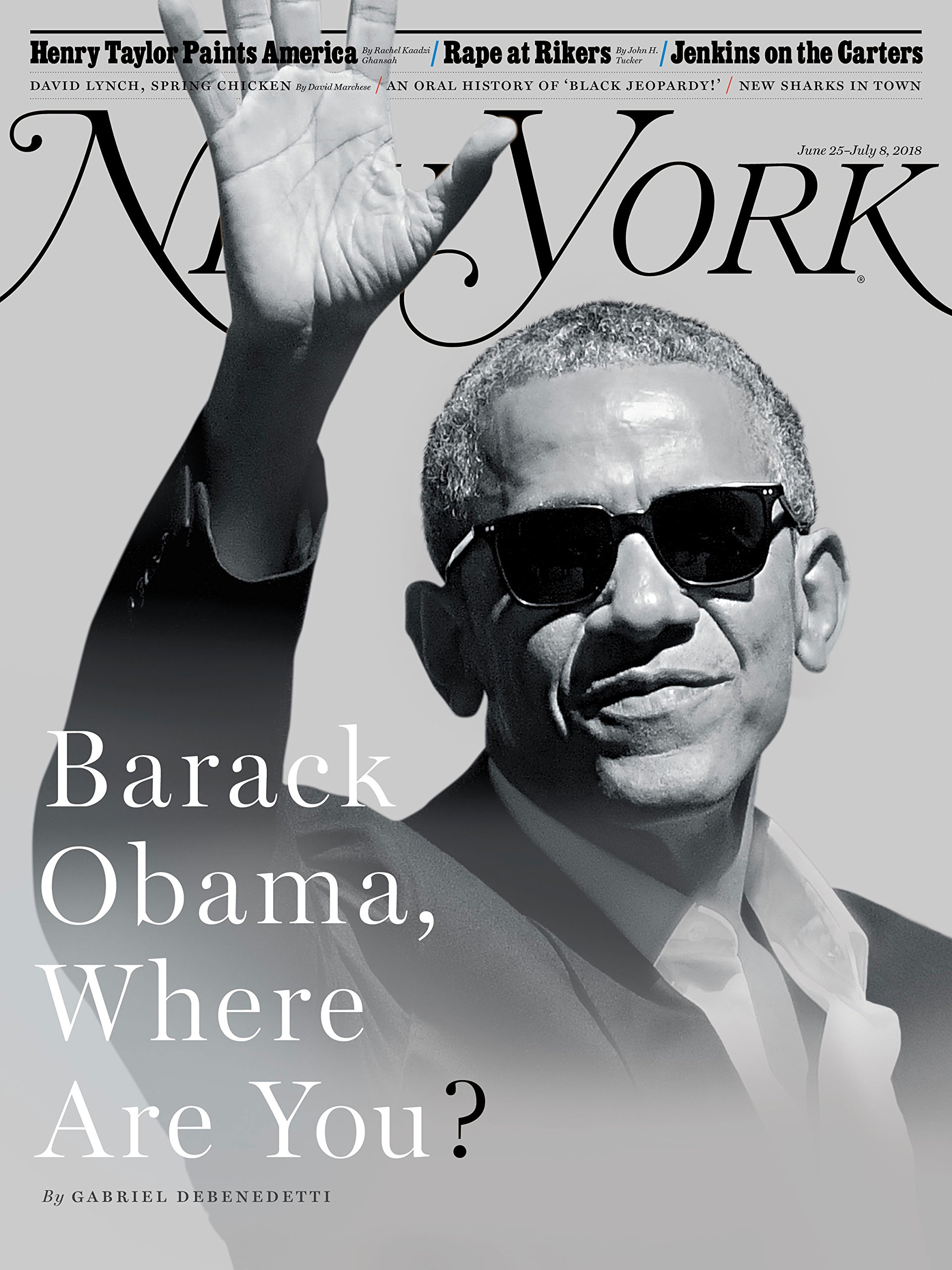 Download New York Magazine (June 25, 2018 -July 8, 2018) Barack Obama, Where Are You? Cover ebook