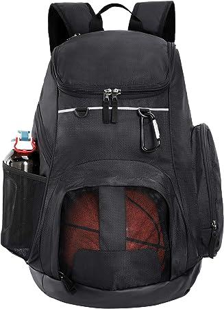 Amazon.com: MIER Mochila deportiva grande con bolsillo para ...