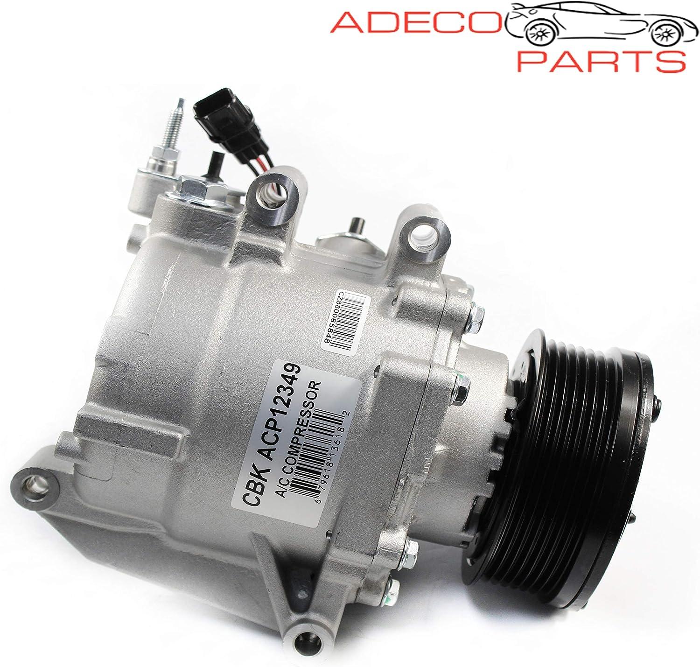 AdecoAutoParts A/C Compressor for Honda Civic 2006 2007 2008 2009 ...