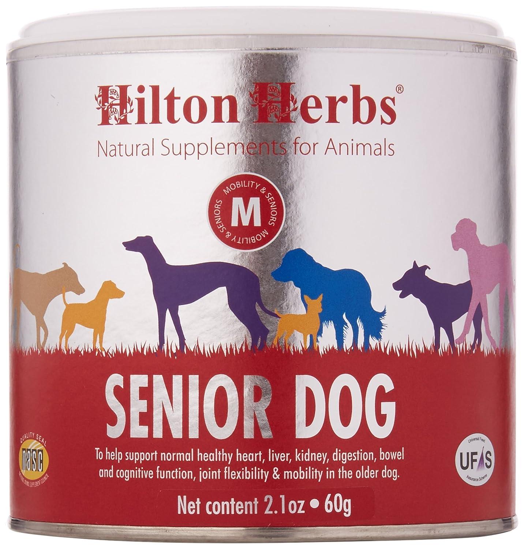 Hilton Herbs Complément Alimentaire pour Chien Âgé Boîte de 60 g 91130
