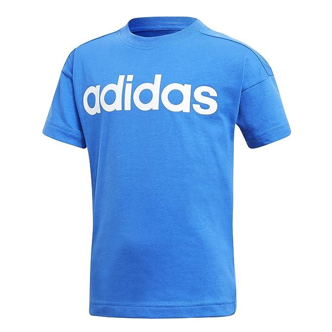 adidas Mädchen Little Kids Linear Tee T Shirt: