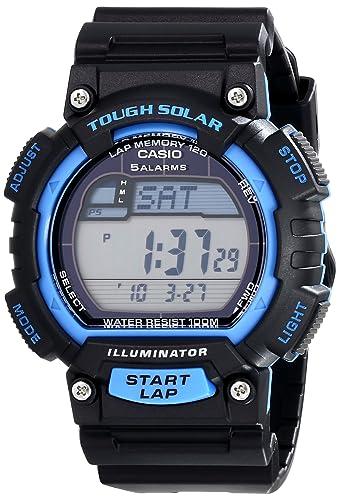 Casio Hombre stl-s100h-2avcf Tough Solar Reloj Deportivo de Acero Inoxidable: classic: Amazon.es: Relojes