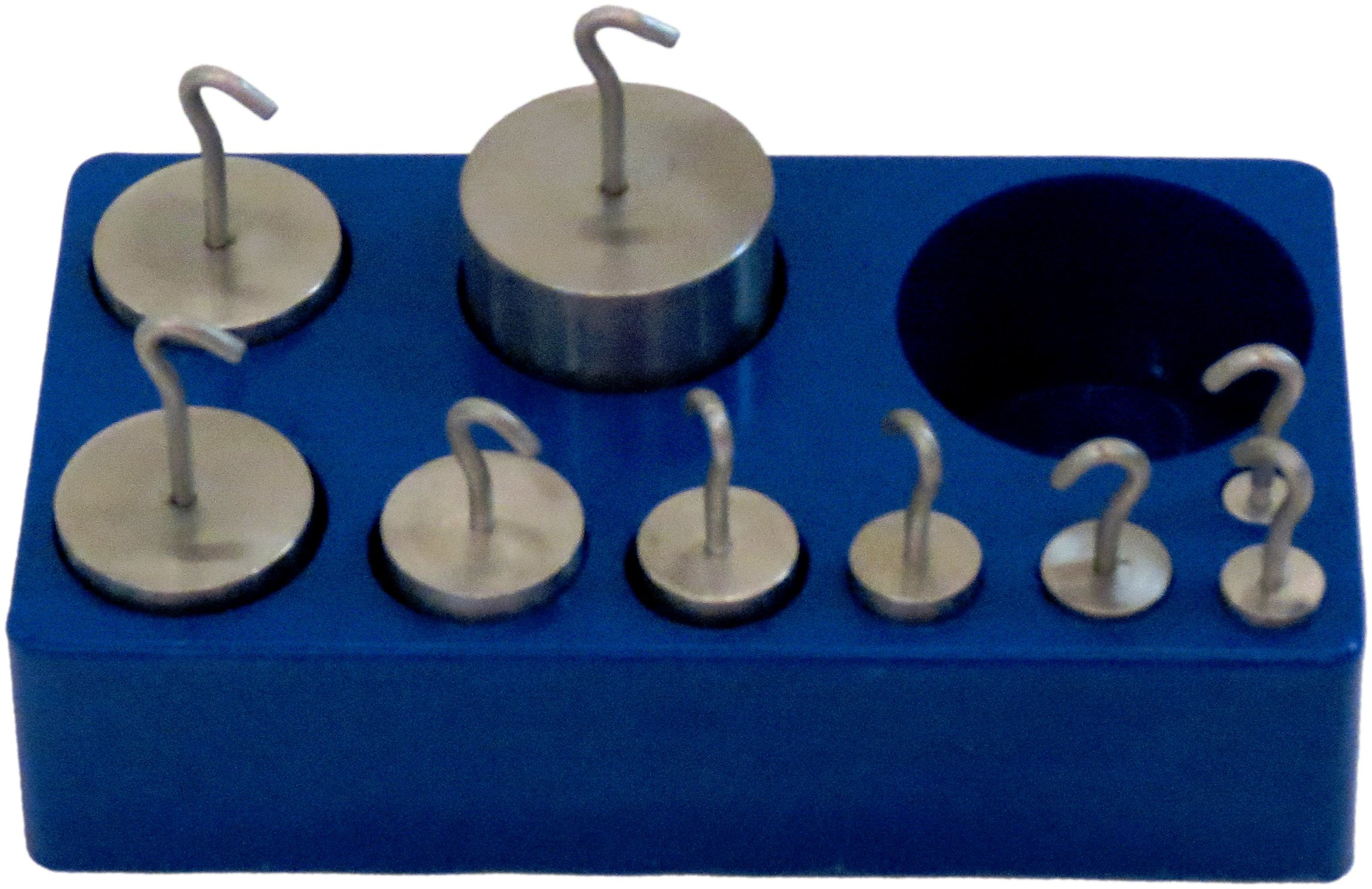 United Scientific Stainless Steel Hooked Weight Set