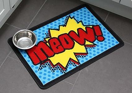 Amazon.com: Meow dibujos animados comida para gatos ...