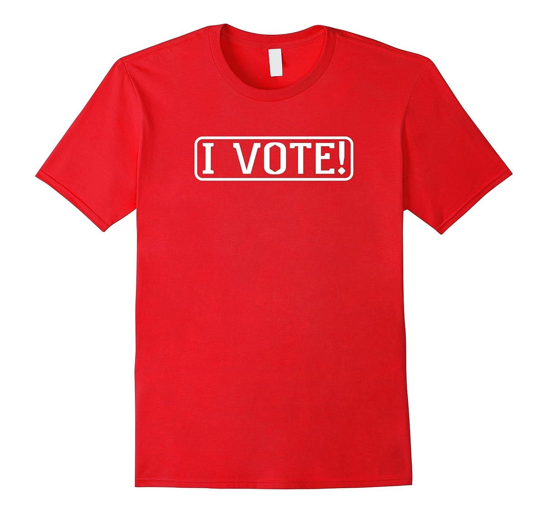I Vote Inspirational Shirt-CD