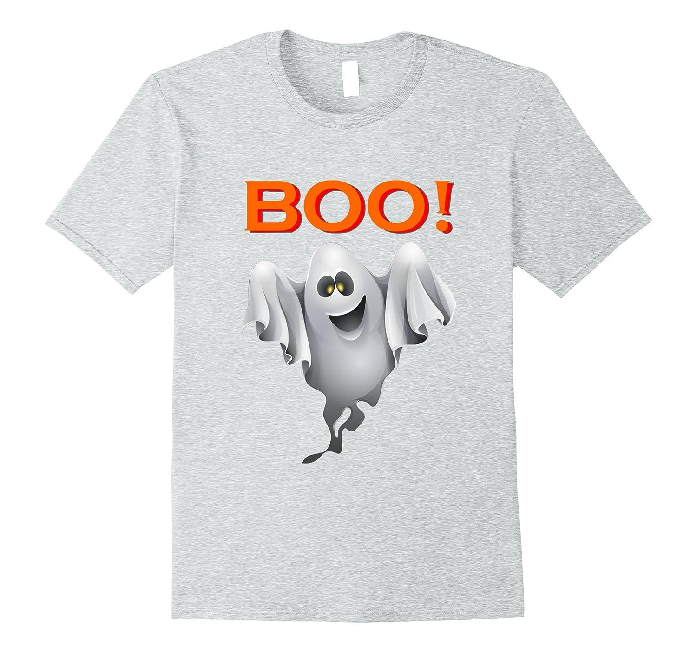 Ghost shirt saying Boo halloween costume - halloween shirt-T-Shirt