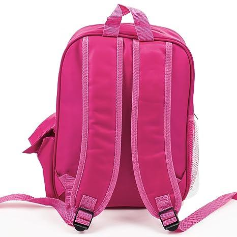 93e9b44c51 Personalised Girls School Bag UNICORN MAGICAL Pretty Backpack Kids Book  Childrens Rucksack - Pink KS152  Amazon.co.uk  Luggage