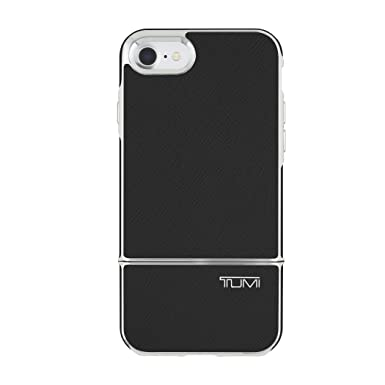 349c4d72c75e9f Tumi 2-PC Slider Case for iPhone 7 - Black Leather: Amazon.co.uk:  Electronics