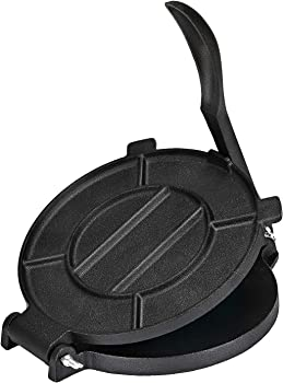 Bioexcel 8-Inch Cast Iron Tortilla Maker