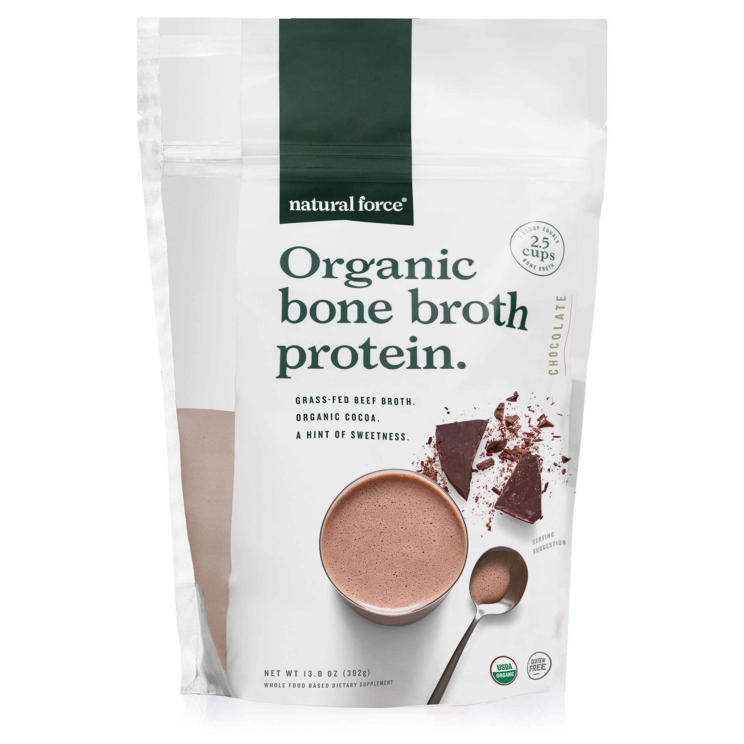 Natural Force Organic Bone Broth Protein Powder