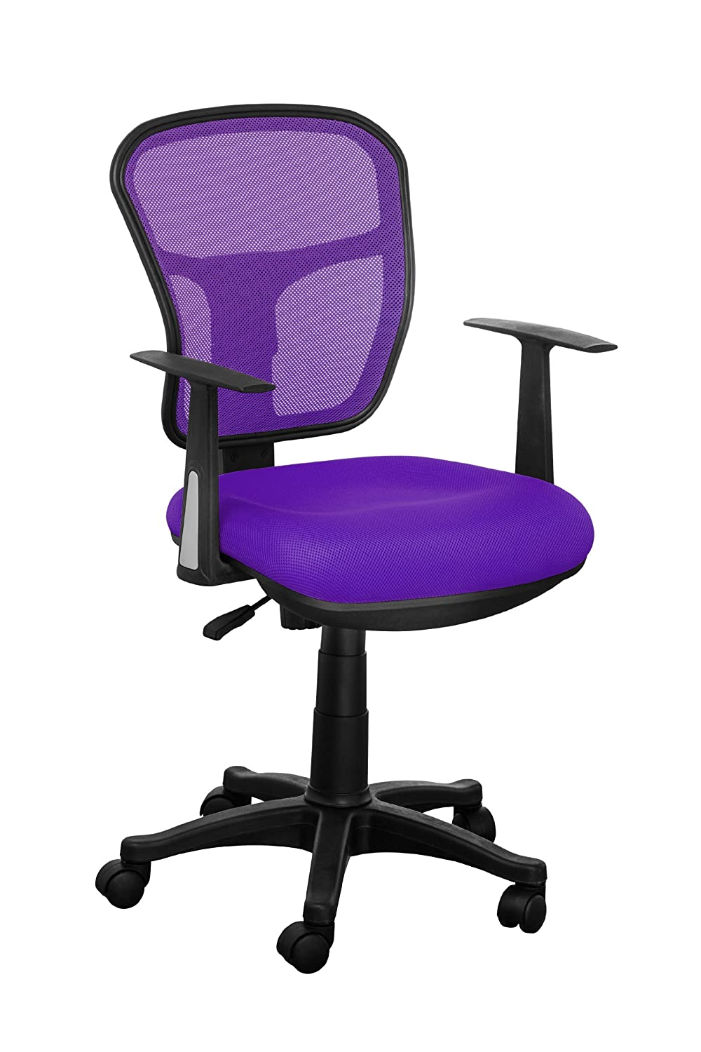 Premier Housewares Office Chair Purple Amazoncouk Kitchen Home - Computer chair uk