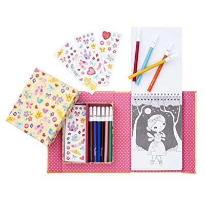 Tiger Tribe Ballet Colouring Set: Toys & Games