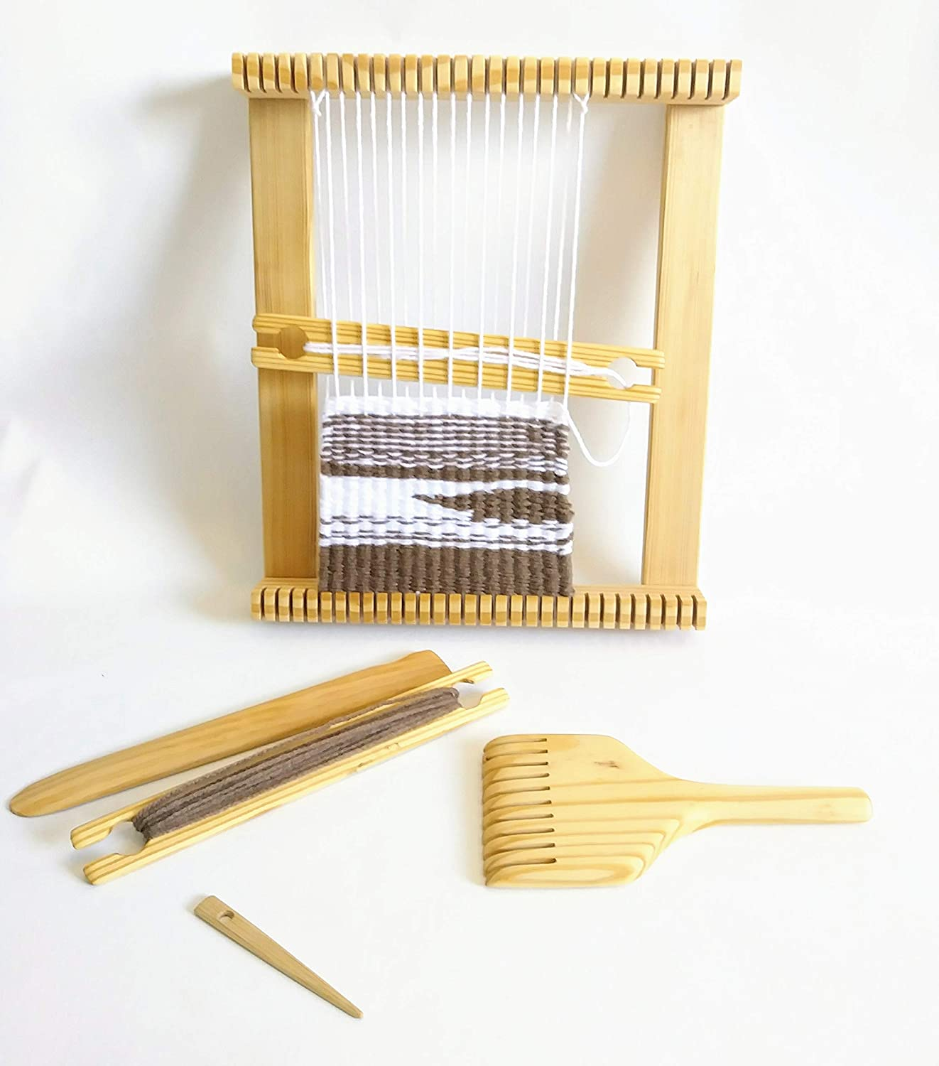 Large 36x36 Inch Weaving Loom Kit with Accessories. ALE Crafting supplies 4336906359