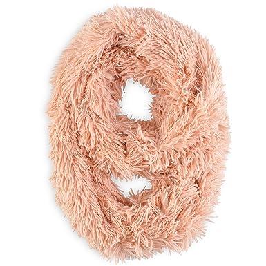 429019a7772 Allée du foulard Snood PILOU Rose pêche  Amazon.fr  Vêtements et ...