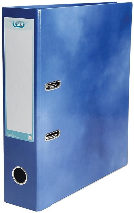 Elba - Archivador de palanca, tamaño A4, 10 unidades, color azul