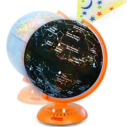 Star Map For Kids.Amazon Com Globe For Kids 3 In 1 World Globe With Illuminated Star
