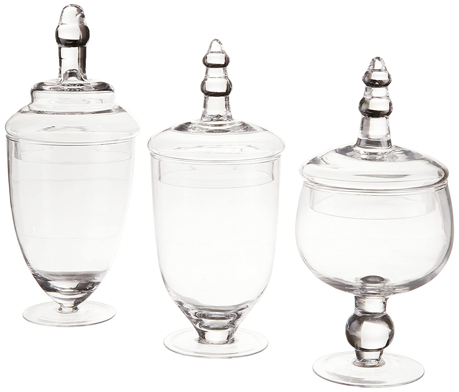 glass candy jars apothecary jars