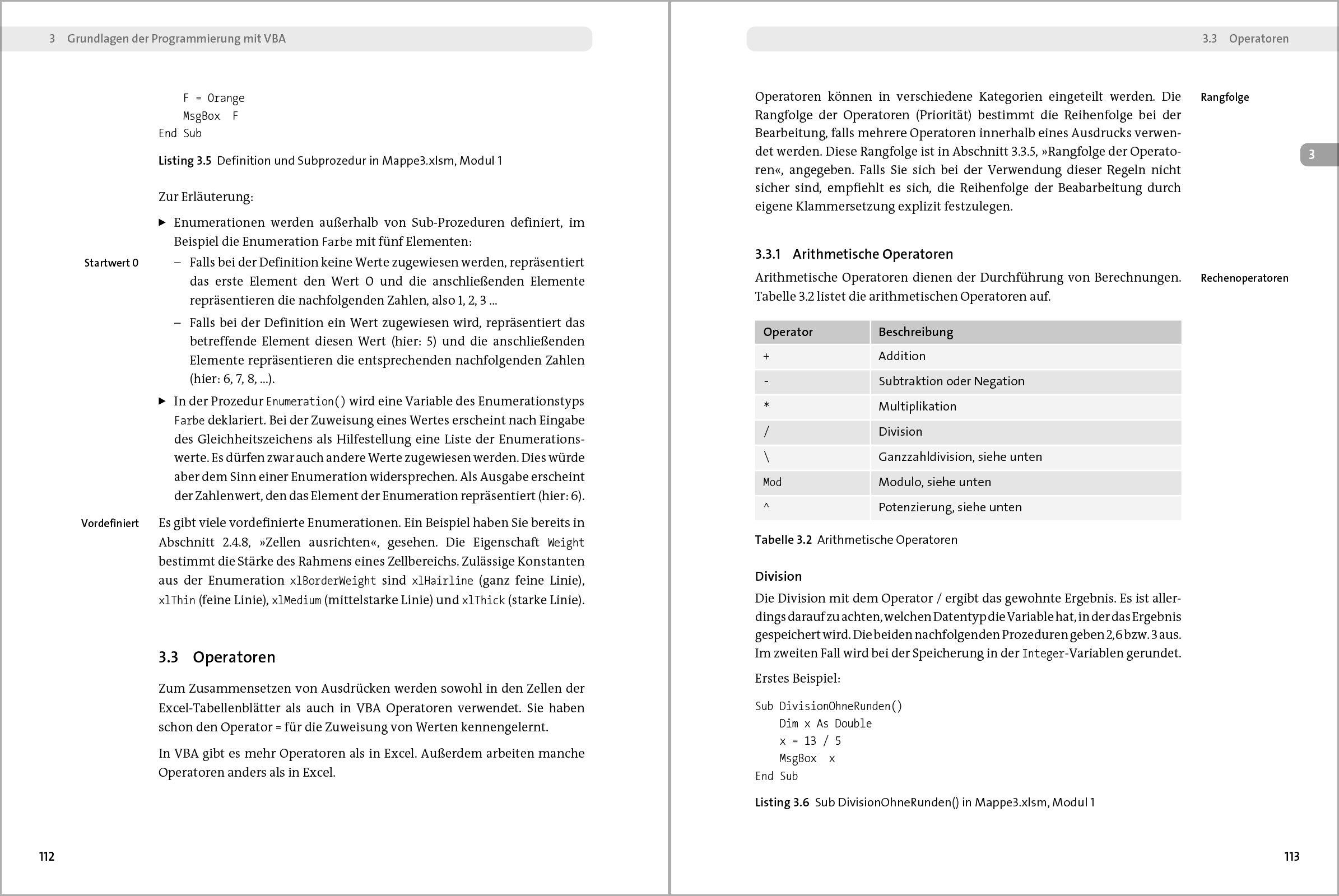 Einstieg in VBA mit Excel: Makro-Programmierung für ...
