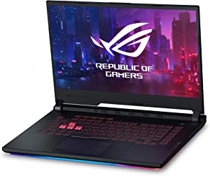 "Asus ROG Strix G Gaming Laptop, 15.6"" 120Hz IPS Type Full HD, NVIDIA GeForce RTX 2060, Intel Core i7-9750H, 16GB DDR4, 512GB PCIe Nvme SSD, RGB KB, Windows 10, GL531GV-PB74"