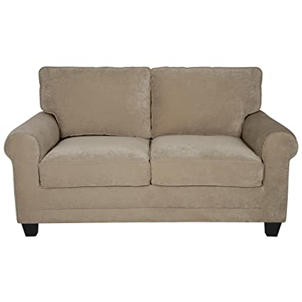 Amazon.com: Modern Loveseat Sofa with Comfortable Soft Seat ...