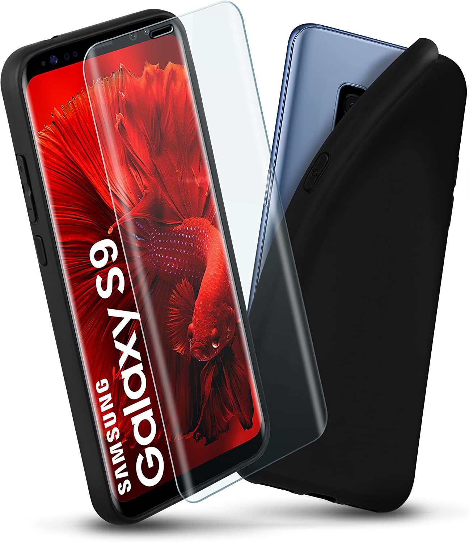 Samsung Galaxy S9 Silikon Hülle Panzer Folie Glas Elektronik