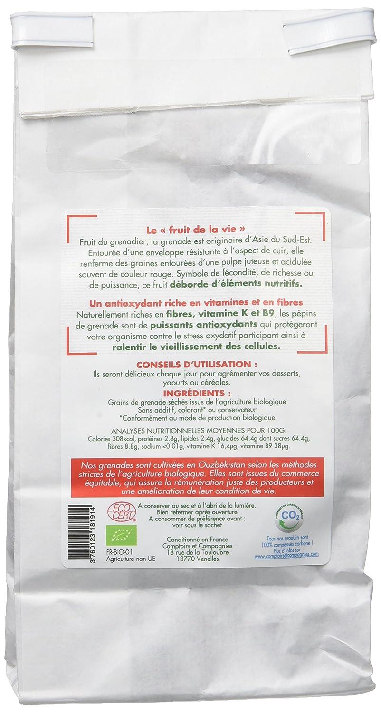 Comptoirs Et Compagnies Pépins De Grenade Bio Commerce Equitable 125