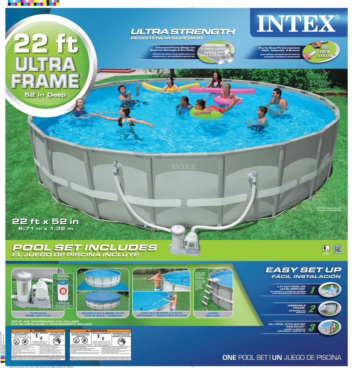 Famous Intex 24 X 52 Ultra Frame Pool Pictures Picture Frame Ideas
