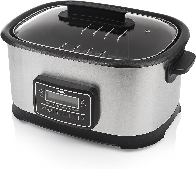 Princess 263000 Sous Vide - Multicooker y cocina lenta, 1500 W, capacidad de 6 litros: Amazon.es: Hogar