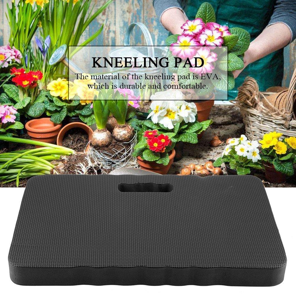 Kneeler para ba/ño para beb/és Azul Kneeler para jardiner/ía Negro Estera para Ejercicios y Yoga DGTRHTED Colchoneta para arrodillarse Home Club Thick Kneeling Pad Color : Black