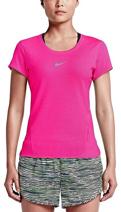 ab672bec0 Amazon.com : Nike Women's Dri-Fit AeroReact Running Top : Clothing