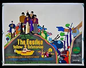 Del submarino amarillo de (The Beatles) - Póster de la