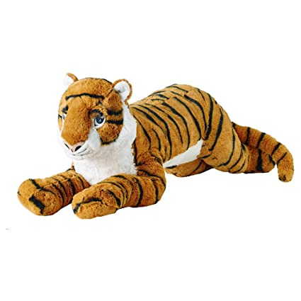 Amazon.com: IKEA.. 304.085.83 Djungelskog Soft Toy, Tiger ...