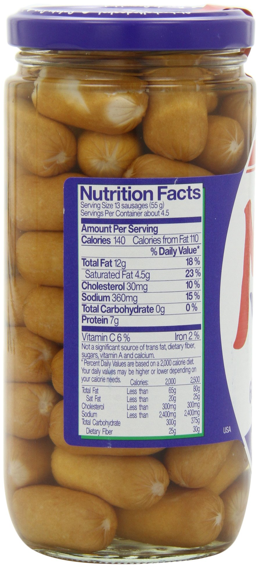 Meica Mini Wini Sixty Cocktail Sausages, 8.8 Ounce by Meica (Image #7)
