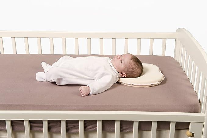 Babymoov Lovenest - Cojín para recién nacidos en algodón, color marfil