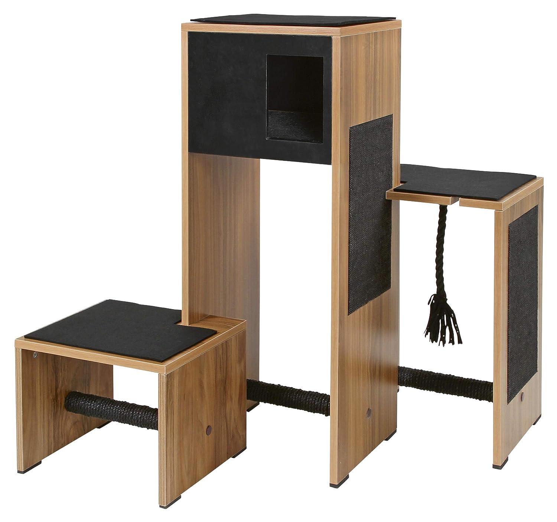 Kerbl Scratch Furniture Ambiente, 96 x 87 x 100 cm, Black