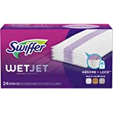 Swiffer Wetjet Wet Mopping Pad, Multi Surface Cleaner Refills For Floor Mop, 24 Count