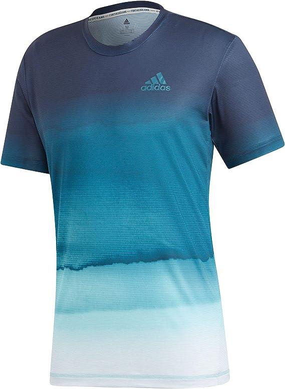 adidas Parley Pr tee Camiseta de Tenis, Hombre: Amazon.es