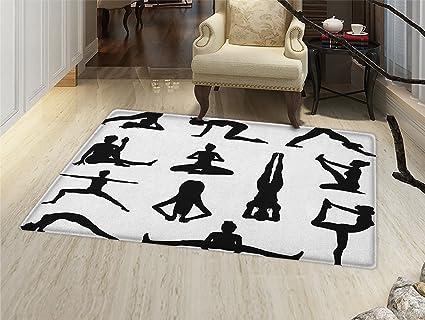 Amazon.com: Yoga Felpudo alfombra pequeña siete chakras ...
