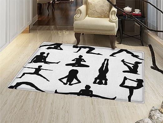 Alfombra de yoga para puerta, diseño de chakras principales ...