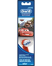 Oral-B Power Extra Soft Refills Featuring Disney & Pixar's Cars Toothbrush, 2 Count
