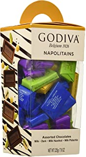 Godiva, Napolitanas mini tabletas chocolates surtidos caja pequeña, 225g